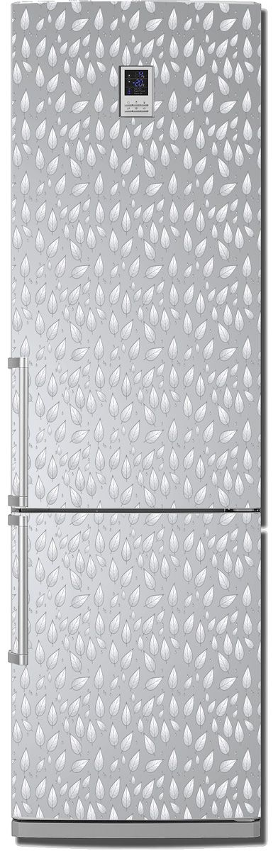 Fridge Skin - Silver rain by X-Decor