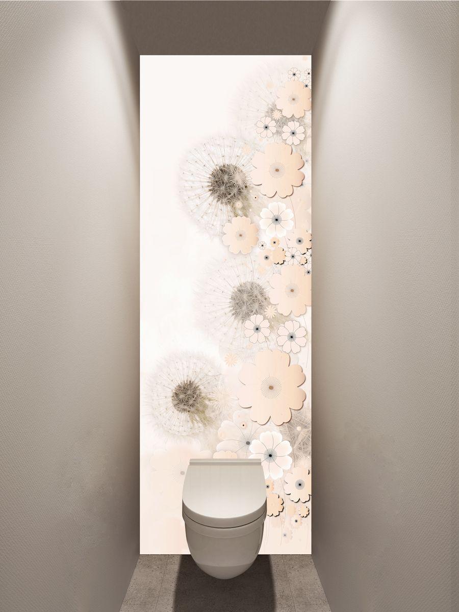 Фотообои в туалет - Невесомые магазин Интерьерные наклейки