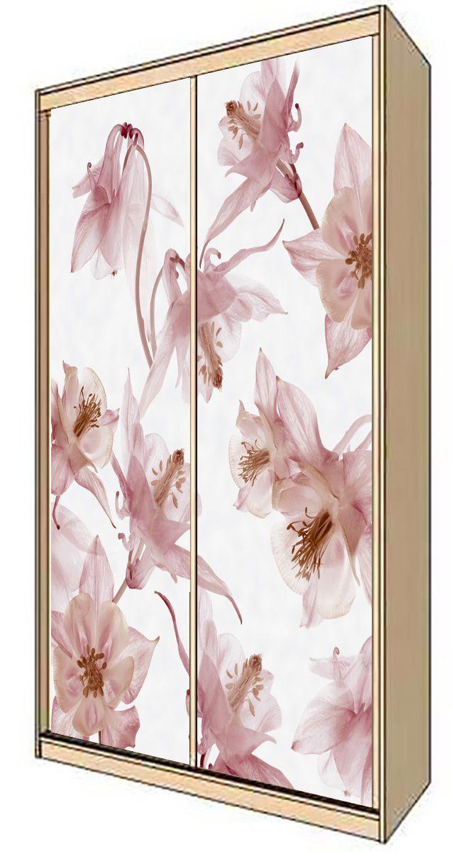 Wardrobe Stickers - Waltz of the flowers by X-Decor