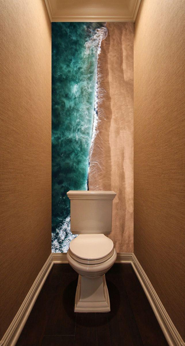 Фотообои в туалет - Место для купания магазин Интерьерные наклейки