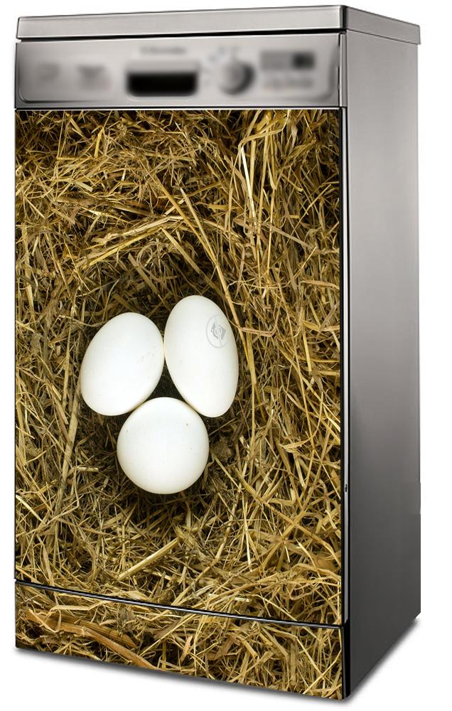 Наклейка на посудомоечную машину - Гнездо