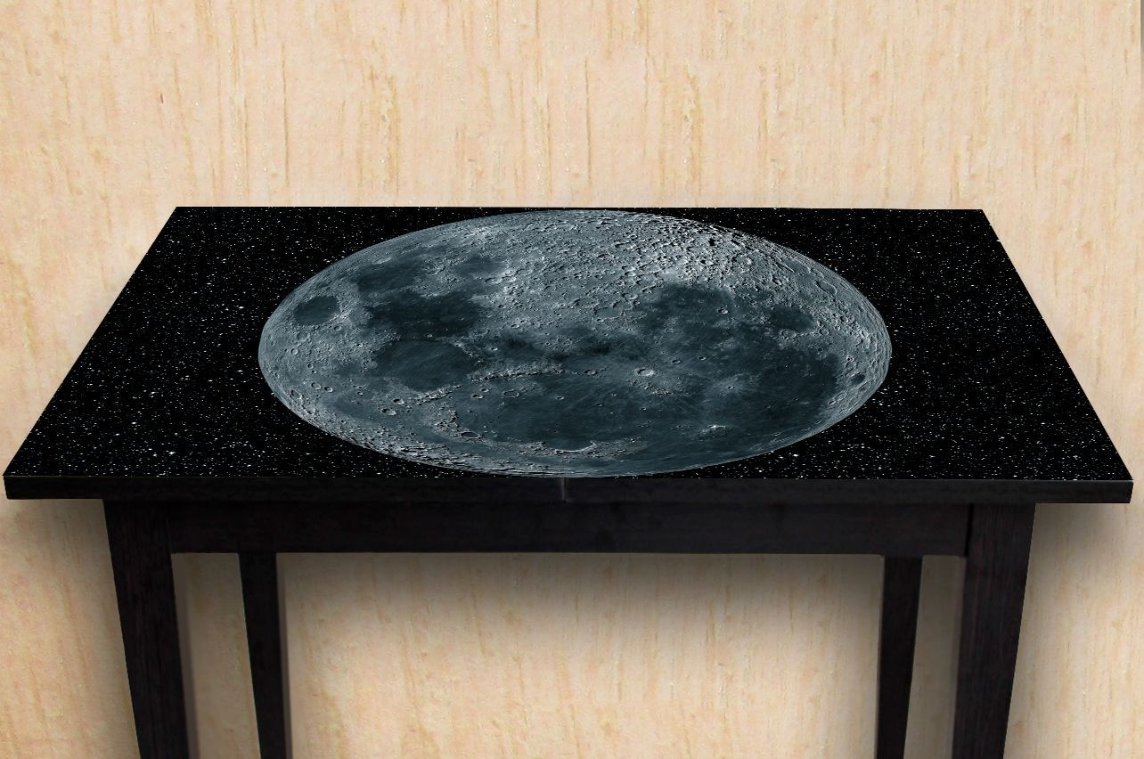 Stickers a Table - Moon | Buy Table Decals in x-decor.com