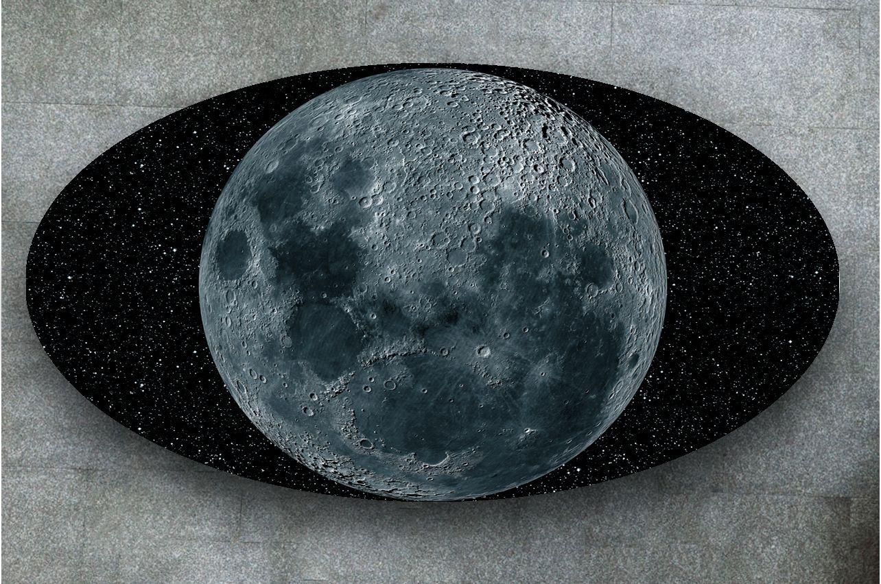 Наклейка на стол - Moon | фотопечать на стол в магазине Интерьерные наклейки