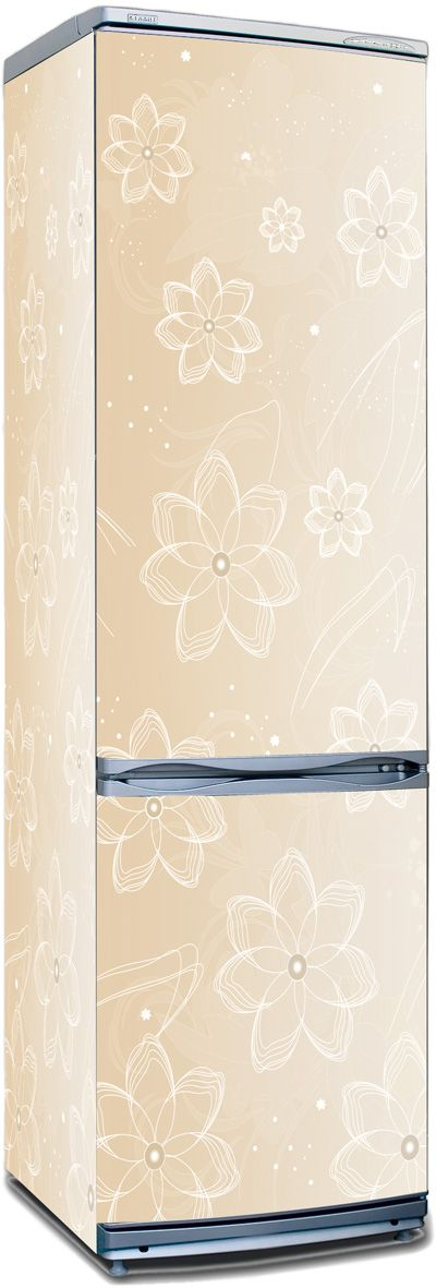 Fridge Skin - Flower latte by X-Decor