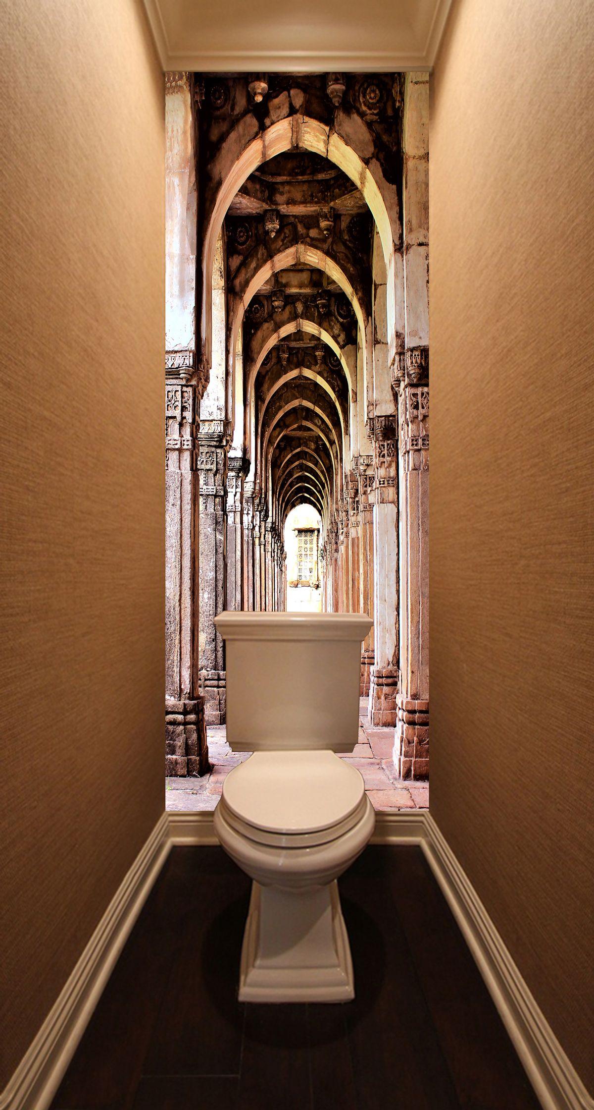 Фотообои в туалет - Галерея купить в магазине Интерьерные наклейки