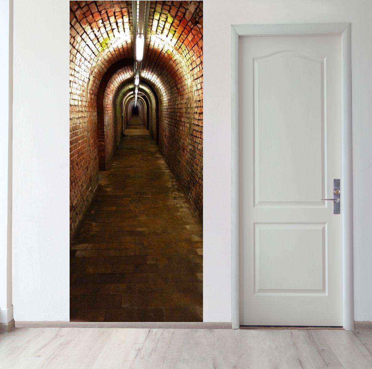 Панно на стену - Подземный ход магазин Интерьерные наклейки