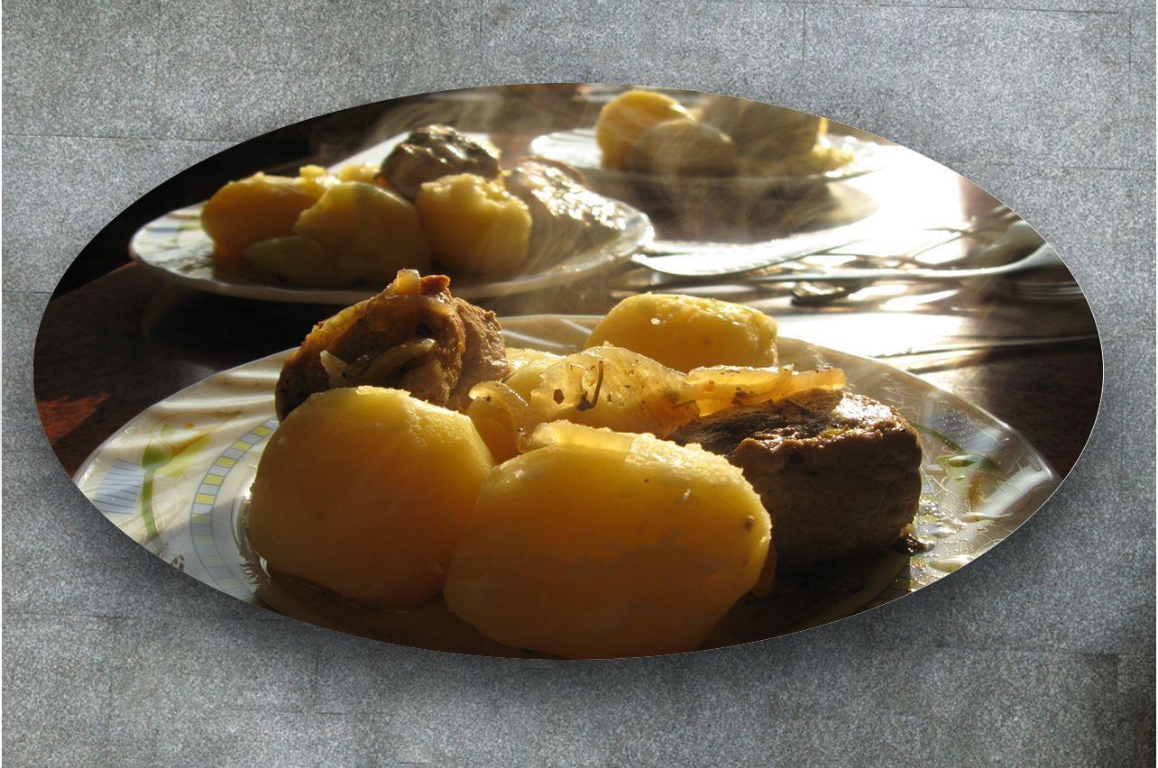 Наклейка на стол - Картошечка | фотопечать на стол в магазине Интерьерные наклейки