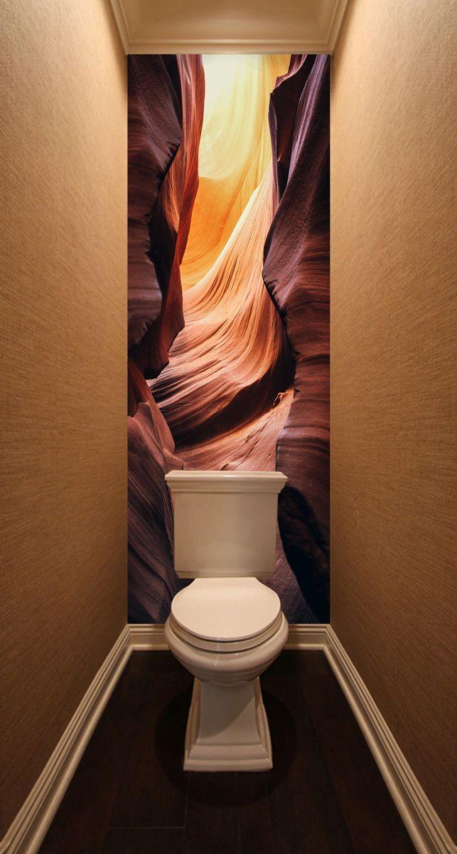 Фотообои в туалет - Гранд Каньон магазин Интерьерные наклейки