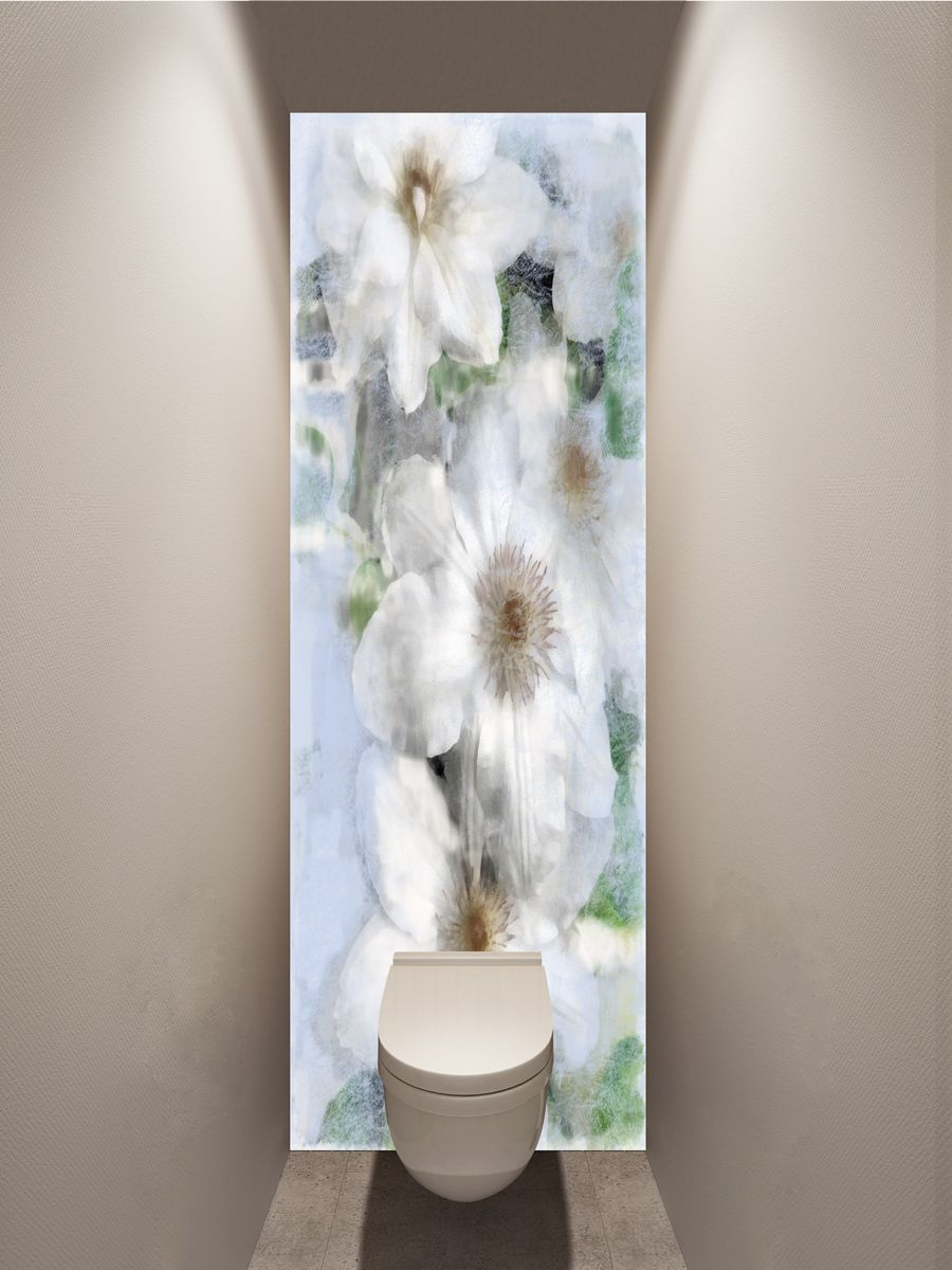 Фотообои в туалет - Воспоминание магазин Интерьерные наклейки