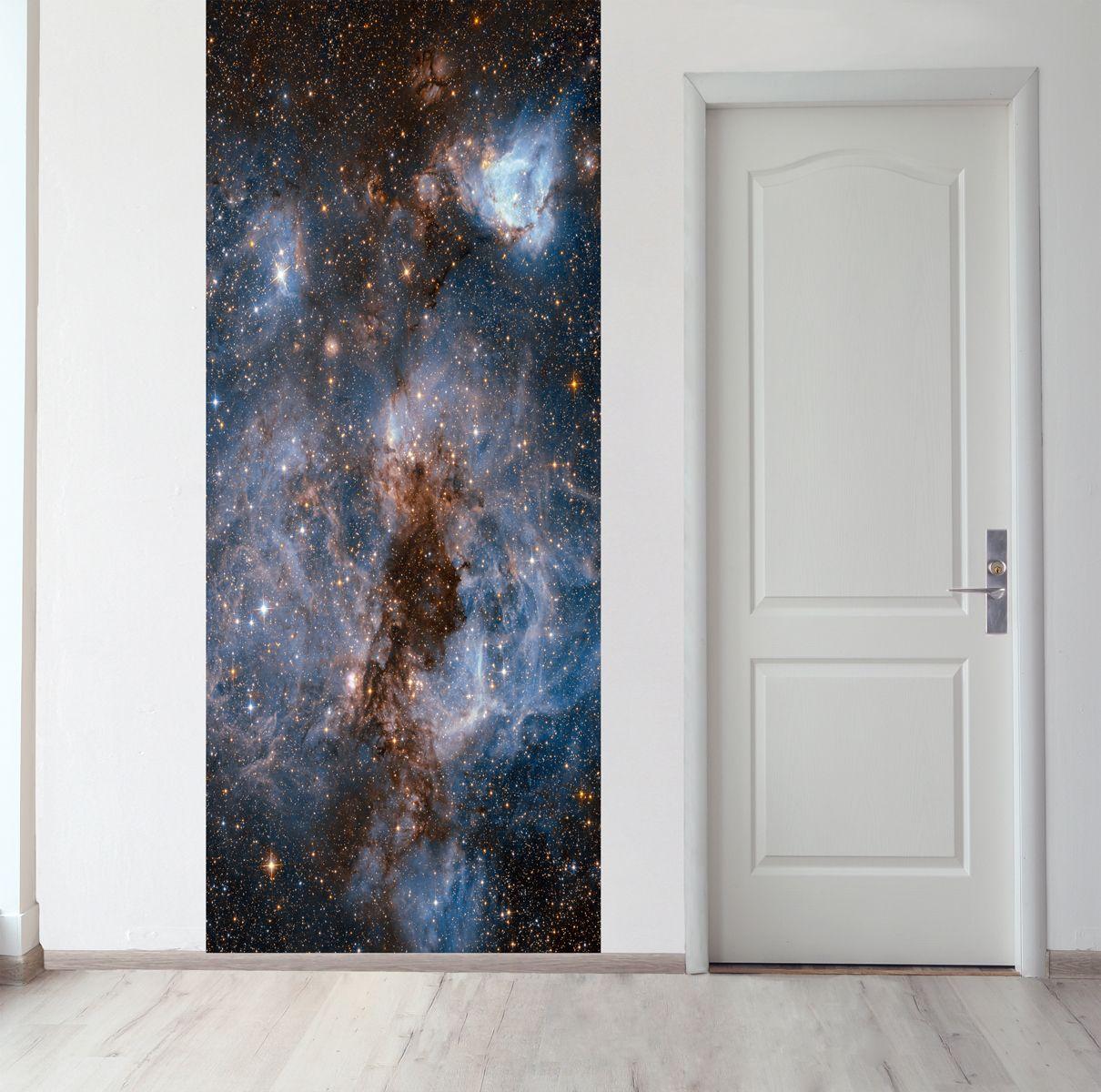 Панно на стену - Глубокий космос магазин Интерьерные наклейки