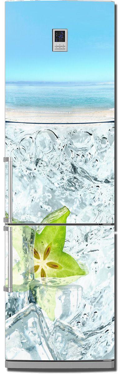 на холодильник - Карамбола | магазин Интерьерные наклейки