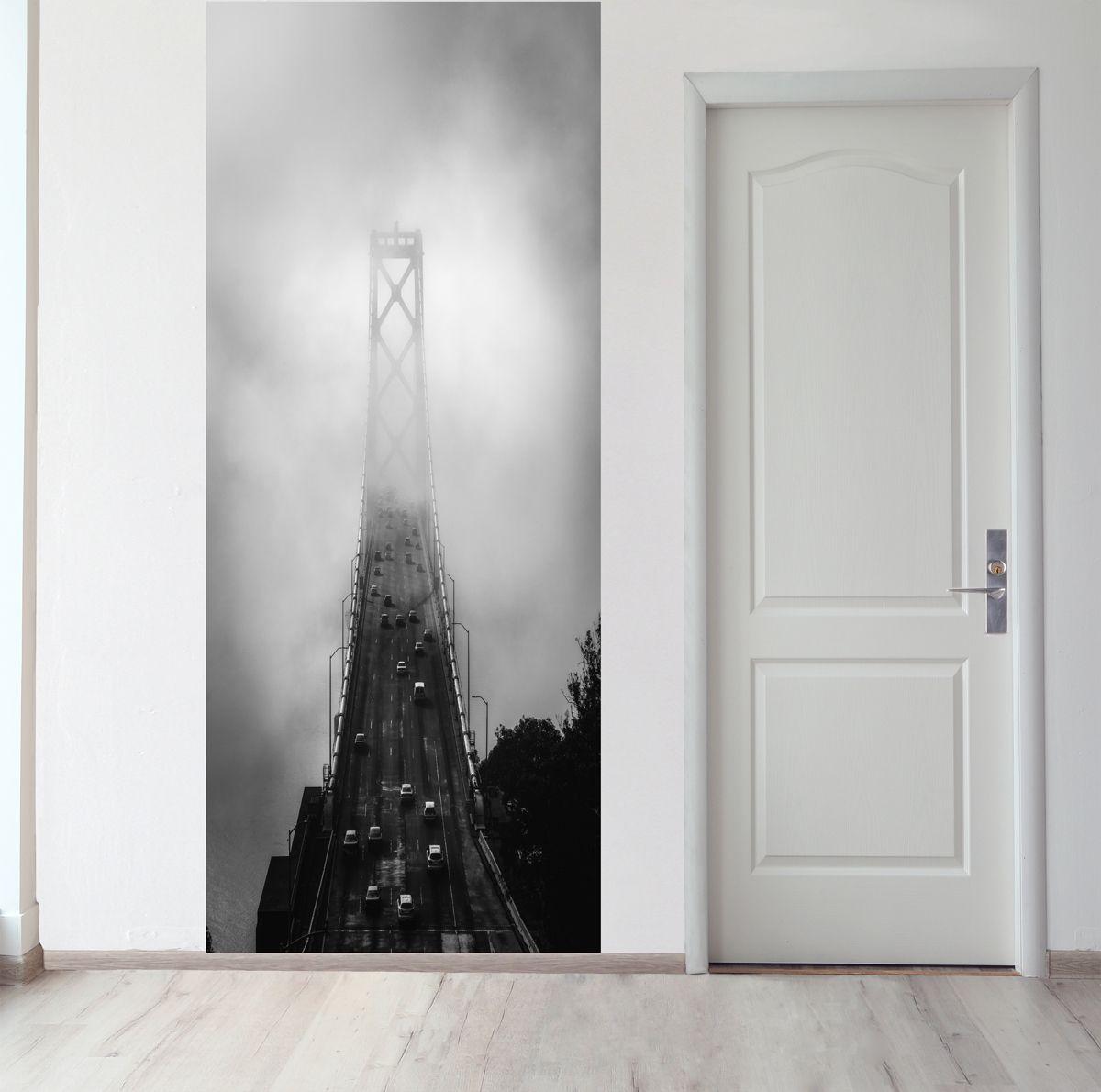Панно на стену - Дорога сквозь облака купить в магазине Интерьерные наклейки
