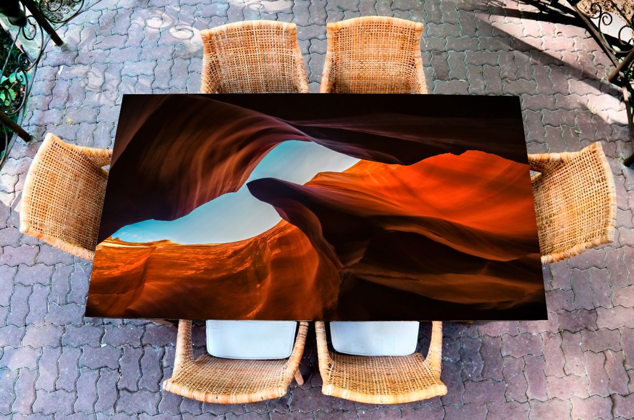 Наклейка на стол - Каньон | фотопечать на стол в магазине Интерьерные наклейки