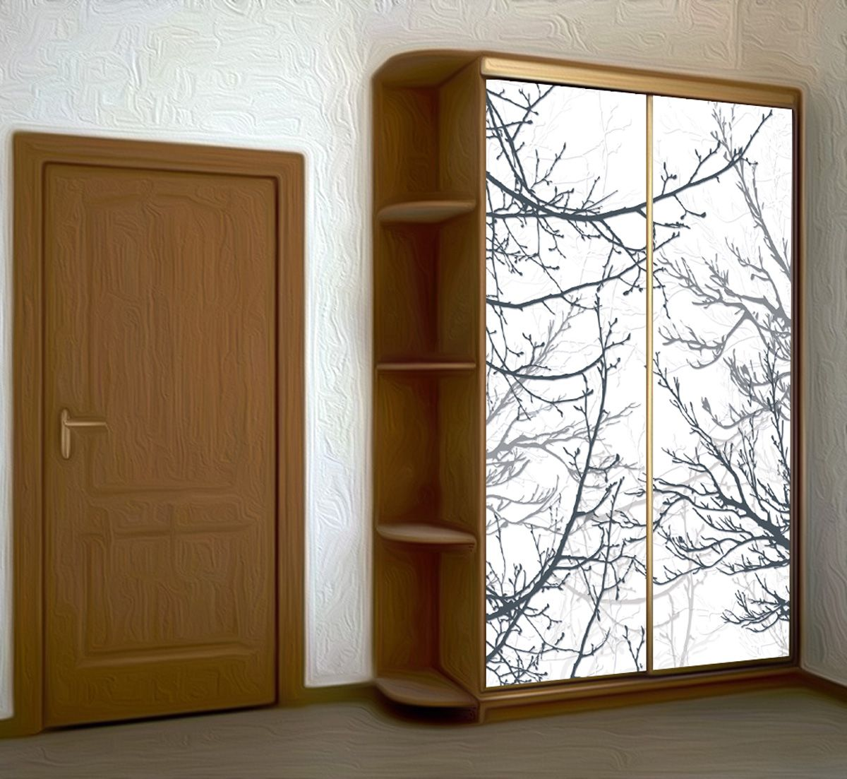 Wardrobe Stickers - Branches by X-Decor