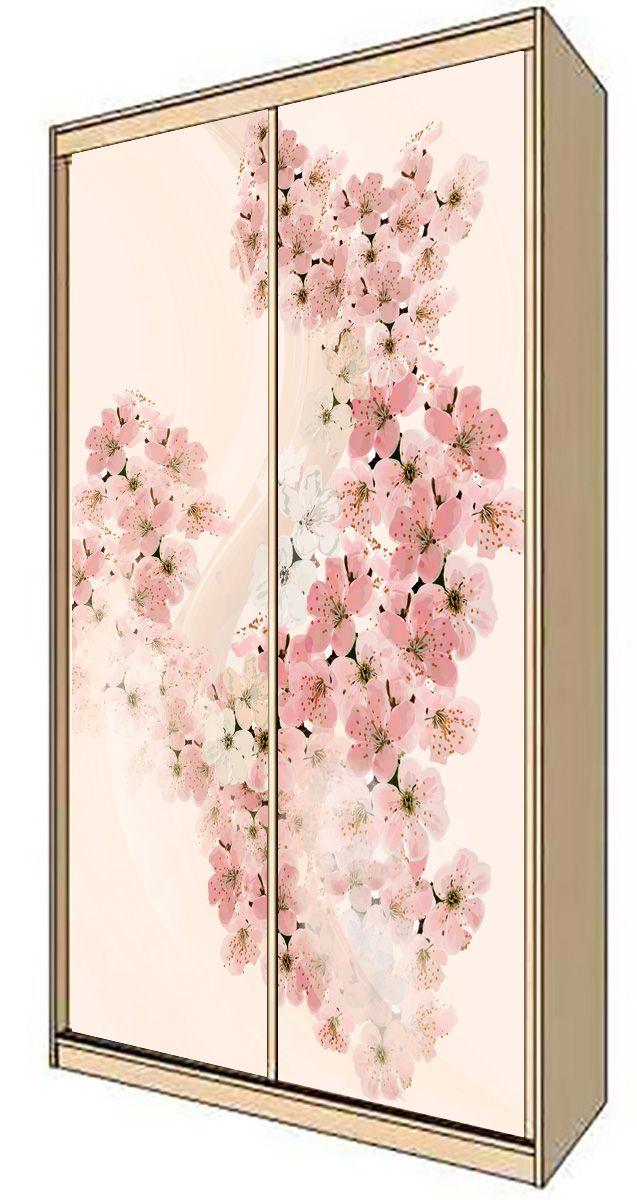 Наклейка на шкаф - Вуаль весны