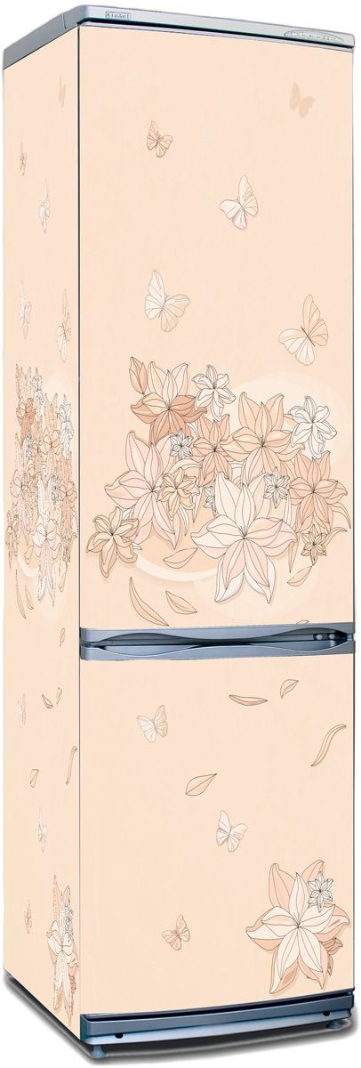 Fridge Skin - Floral-1 by X-Decor